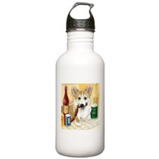 """Food Hound"" - Corgi Sports Water Bottle"