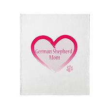 Cute Alsatian Throw Blanket