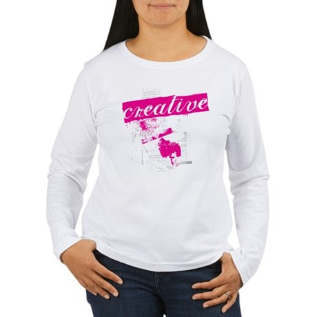creative Women's Long Sleeve T-Shirt