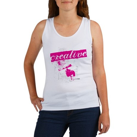creative Women's Tank Top