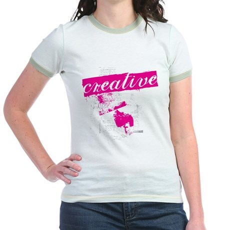 creative Jr. Ringer T-Shirt