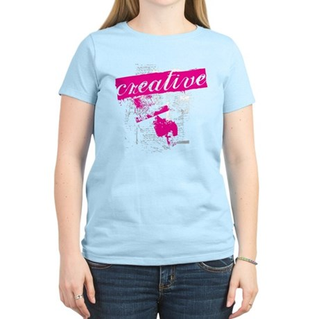 creative Women's Light T-Shirt