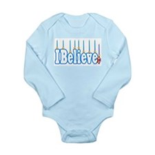 Chanukah (Hanukkah) Long Sleeve Infant Bodysuit