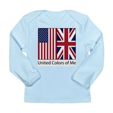 US UK Me Long Sleeve Infant T-Shirt