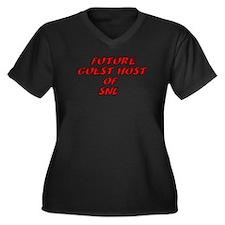 Cute Betty white Women's Plus Size V-Neck Dark T-Shirt