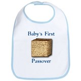 First Passover Bib (blue)