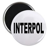 INTERPOL Police Magnet
