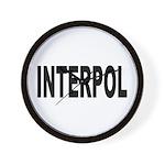 INTERPOL Police Wall Clock