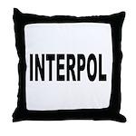 INTERPOL Police Throw Pillow