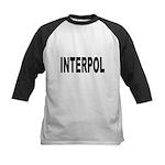 INTERPOL Police Kids Baseball Jersey