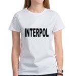 INTERPOL Police Women's T-Shirt
