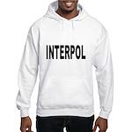 INTERPOL Police (Front) Hooded Sweatshirt