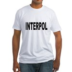 INTERPOL Police Fitted T-Shirt