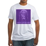 Jesus Loves You! Fitted T-Shirt