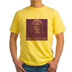 Jesus Loves You! Yellow T-Shirt
