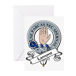Lamont Clan Badge Greeting Cards (Pk of 10)