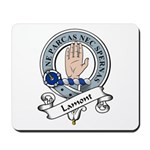 Lamont Clan Badge Mousepad