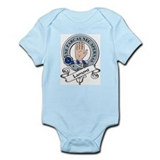 Lamont Clan Badge Infant Creeper