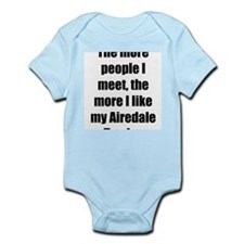 Airedale Terrier Infant Creeper