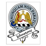 Johnstone Clan Badge Small Poster