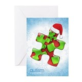 Autism card Greeting Cards (20 Pack)