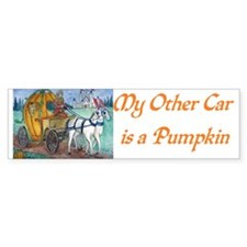 Cute King queen Bumper Sticker