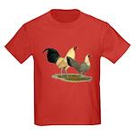 OE Bantams Cream Buttercup Kids Dark T-Shirt