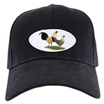 OE Bantams Cream Buttercup Black Cap