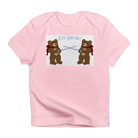 Teddy Bear Fencers Infant T-Shirt