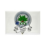Irvine Clan Badge Rectangle Magnet (10 pack)