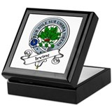 Irvine Clan Badge Keepsake Box