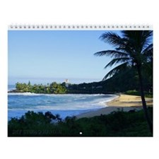 Waimea Bay Winter Wall Calendar