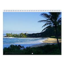 Waimea Bay Winter Wall Calendar