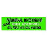 Ghost Adventures Bumper Sticker