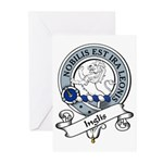 Inglis Clan Badge Greeting Cards (Pk of 10)
