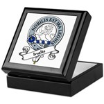 Inglis Clan Badge Keepsake Box