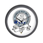 Inglis Clan Badge Wall Clock