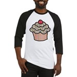 Country Calico Cupcake Baseball Jersey