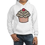 Country Calico Cupcake Hooded Sweatshirt