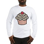 Country Calico Cupcake Long Sleeve T-Shirt