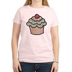 Country Calico Cupcake Women's Light T-Shirt