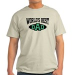 World's Best Dad Light T-Shirt