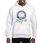 Horsburgh Clan Badge Hooded Sweatshirt