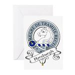 Horsburgh Clan Badge Greeting Cards (Pk of 10)