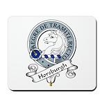 Horsburgh Clan Badge Mousepad