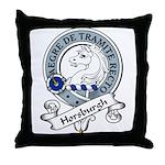 Horsburgh Clan Badge Throw Pillow