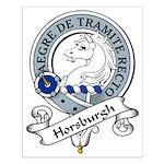 Horsburgh Clan Badge Small Poster