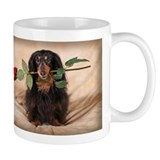 Hallie Dachshund Designs Small Mugs
