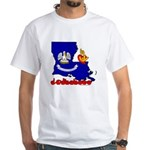 ILY Louisiana White T-Shirt