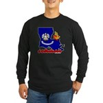 ILY Louisiana Long Sleeve Dark T-Shirt